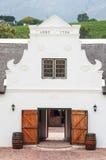 The Stellenbosch wine lands region near Cape Town. Royalty Free Stock Photography