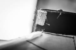 Stellt Attrappe mit Nadeln her Lizenzfreies Stockfoto