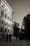 Stellung um Palast Charless V Stockbild