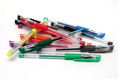 Stelna pennor Arkivfoton