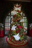 Stelt Vakantiekerstboom, Kleuren voor royalty-vrije stock foto's