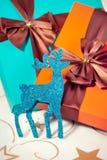 Stelt voor Kerstmis voor stock foto's