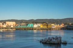 Stelten in Monterey, Californië Stock Fotografie