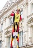 Steltlopers Merchtem Bélgica, Stiltwalkers Imagens de Stock Royalty Free