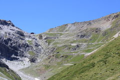 Stelvio National Park Fotografia Stock