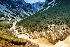 Stelvio National Park fotografía de archivo libre de regalías