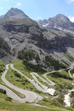 Stelvio Pass Royalty Free Stock Image