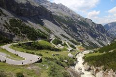 Stelvio Pass Stock Photography