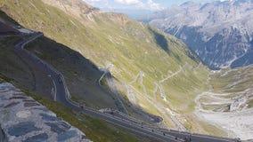 Stelvio Pass Italy Royaltyfri Bild