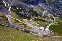 Stelvio Pass Royalty Free Stock Photos