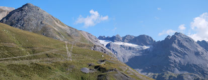 Stelvio pass. Northern lombardy, swiss border Stock Photo
