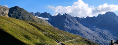 Stelvio pass. Northern lombardy, swiss border Royalty Free Stock Images