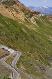 Hairppin Turn on Stelvio Pass, Italy Stock Photos