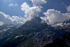 Stelvio peak Stock Image
