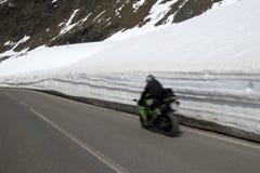 Stelvio przepustka, przełęcz w północnym Włochy przy elevati, Zdjęcia Stock
