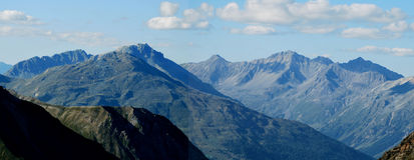 Stelvio przepustka, szwajcarscy alps Obraz Stock