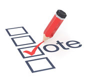 Stem. stock illustratie