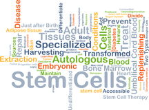 Stem cells background concept Royalty Free Stock Image