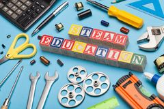 Stem education concept stock photo