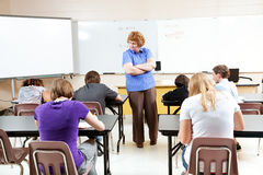 STEM Education Testing stock photography