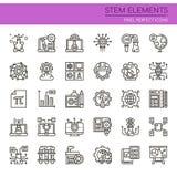 STEM Elements vector illustration
