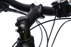Stem and headset of MTB Stock Image