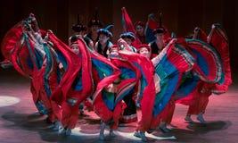 Stem in met de van dans-dans volksdans dramaaxi sprong-Yi stock fotografie