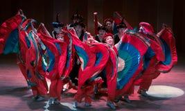 Stem in met de van dans-dans volksdans dramaaxi sprong-Yi stock foto
