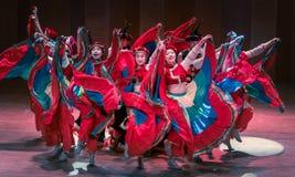 Stem in met de van dans-dans volksdans dramaaxi sprong-Yi royalty-vrije stock foto's