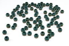Stem valve simmering, green Royalty Free Stock Photography