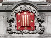 Stemma dell'università di Cambridge dell'istituto universitario di Peterhouse Fotografia Stock Libera da Diritti