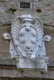 Stemma della pietra della famiglia di Medici a Firenze Immagini Stock