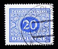 Stemma, serie nazionale della stemma, circa 1928 Fotografia Stock