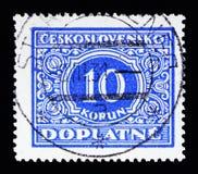 Stemma, serie nazionale della stemma, circa 1928 Fotografie Stock