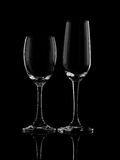 Stemmed glass Royalty Free Stock Image