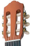 Stemmende pin zes-koord gitaar Stock Foto
