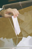 Stemmingstijd, verkiezingstijd royalty-vrije stock foto