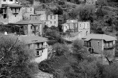 Stemnitsa-Dorf, Peloponnes Griechenland Lizenzfreie Stockbilder