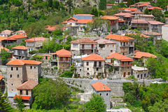 Stemnitsa, Grecia Imágenes de archivo libres de regalías