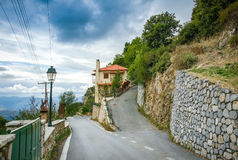 Stemnitsa village.Greece Stock Images