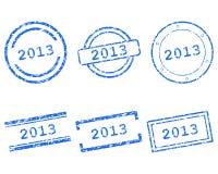 Stempel 2013 Lizenzfreies Stockfoto