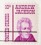 Stempel Andrew Jackson der Weinlese-1967 Stockfotografie