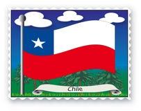 Stempel Chile Stockfoto