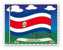 Stempel Costa Rica Stockbilder