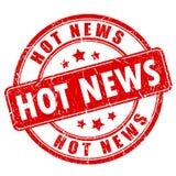 Stempel der aktuellen Nachrichten vektor abbildung
