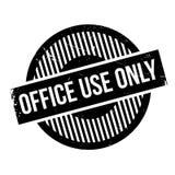 Stempel der Büronutzung nur Stockfotografie
