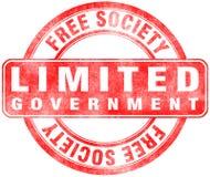 Stempel der begrenzten Regierung Stock Abbildung