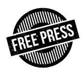 Stempel der freien Presse Lizenzfreie Stockfotos