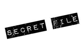 Stempel der geheimen Akte Stockbild