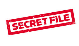 Stempel der geheimen Akte Stockfotos